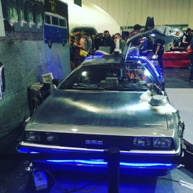 You built a time-machine out of a Delorean?